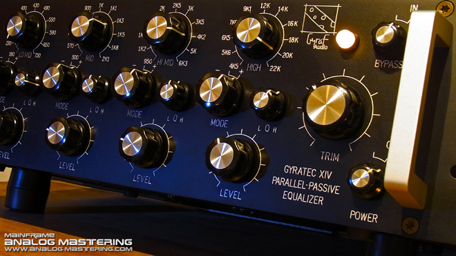 ANALOG MASTERING: GYRAF AUDIO GYRATEC XIV / G14 passive EQ